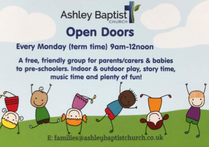 Open Doors Ashley Baptist Church